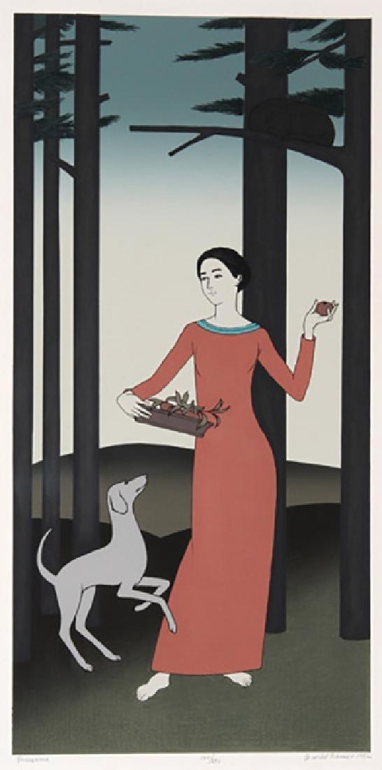 "Will Barnet, American (1911 - 2012) ""Persephone"" HS/N"