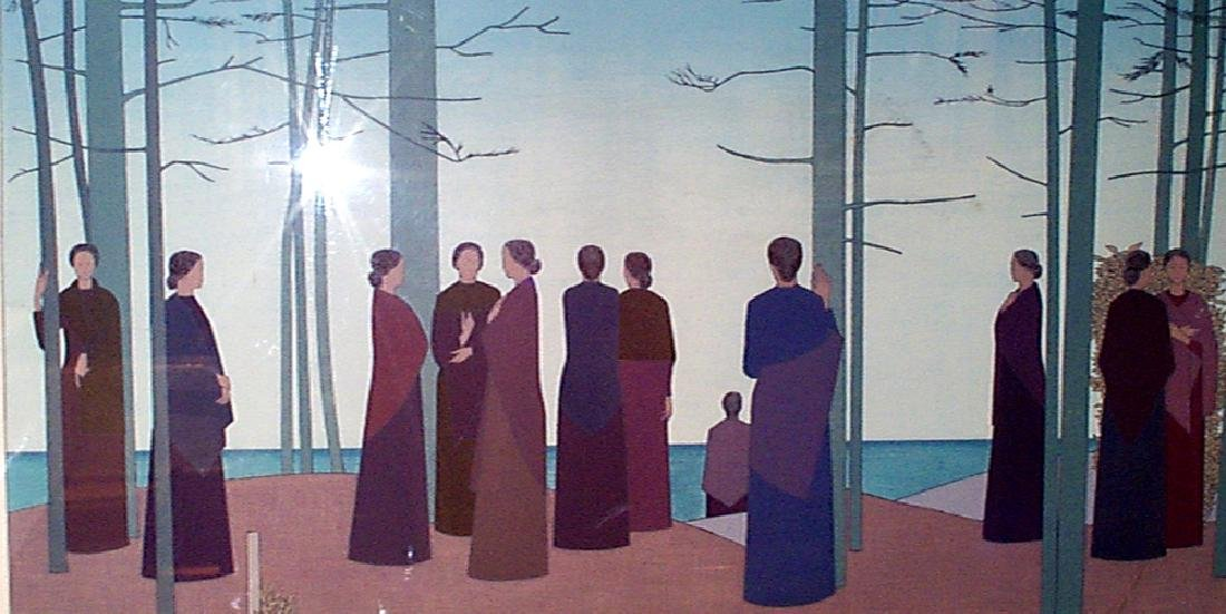 "Will Barnet, American (1911 - 2012) ""Spring Morning"""