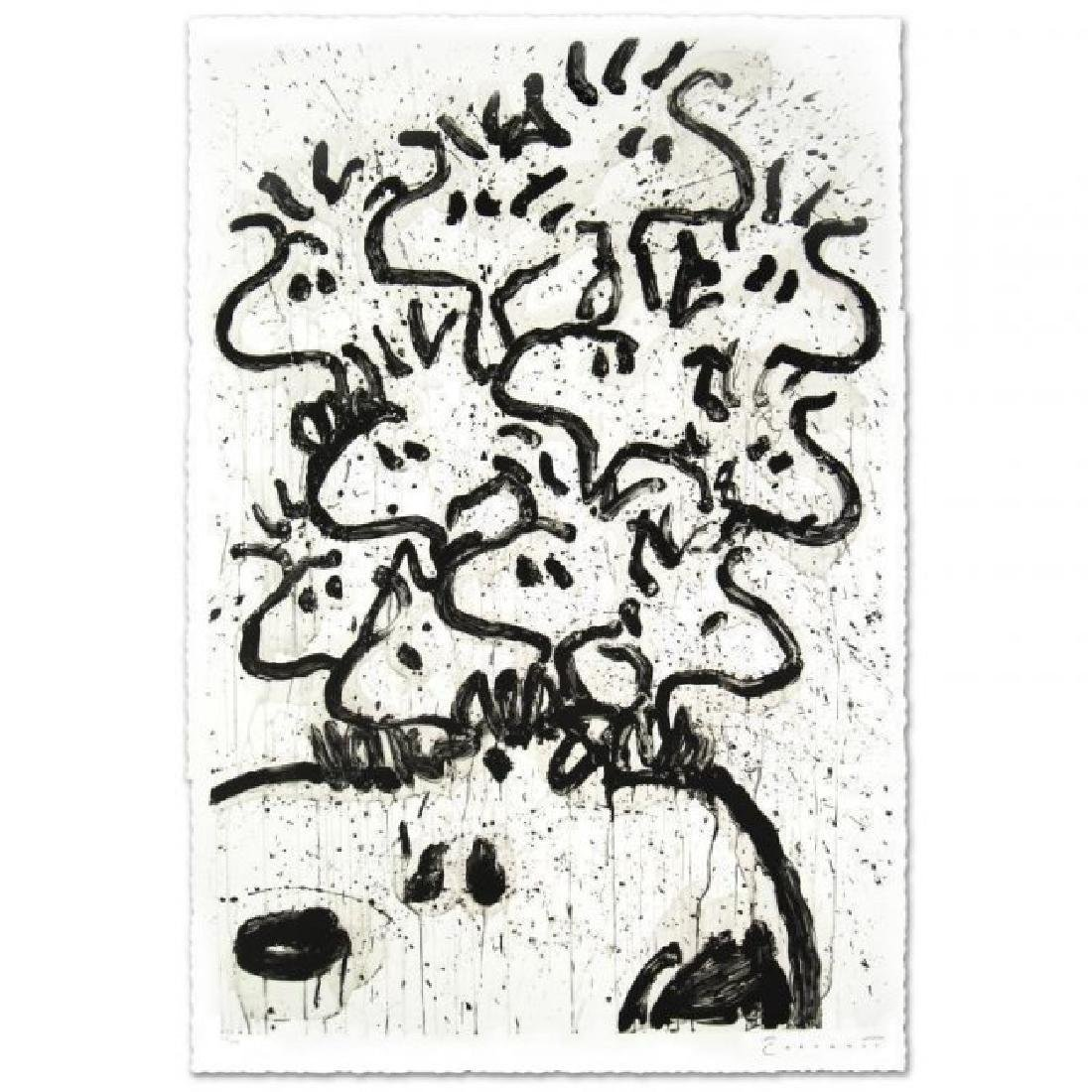"Tom Everhart ""Party Crashers"" Hand S/# lithograph"