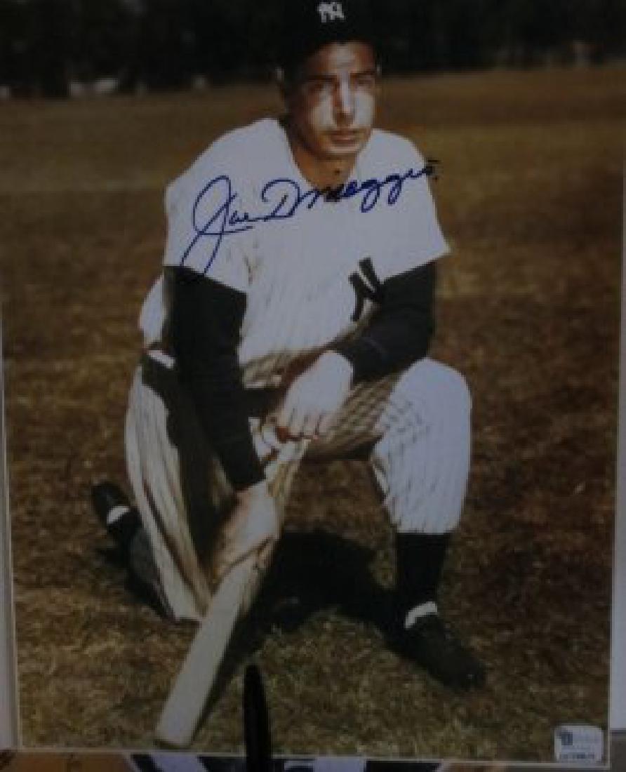 memorabilia Joe DiMaggio Autographed signed 8x10 Photo