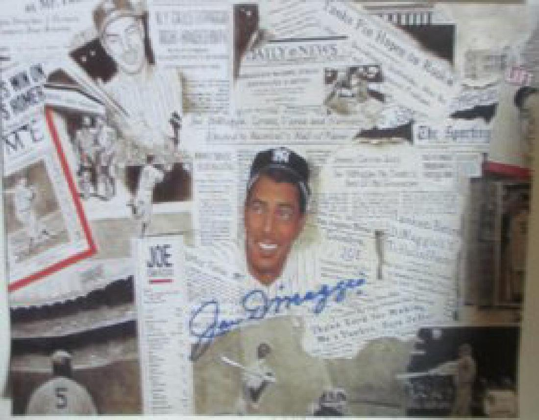memorabilia Joe DiMaggio Autographed signed 8x10 Photo