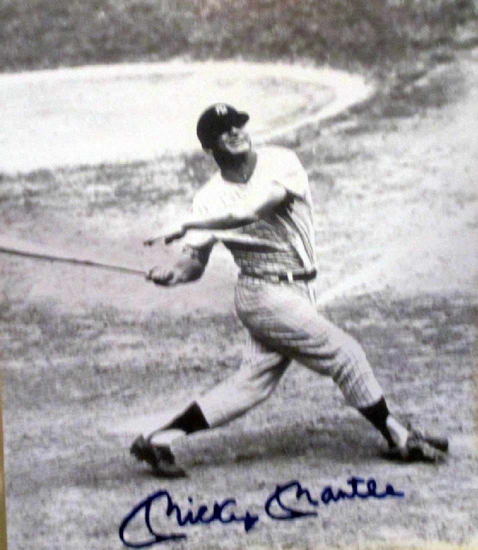 memorabilia Mickey Mantle Rare Autographed 8x10 Photo
