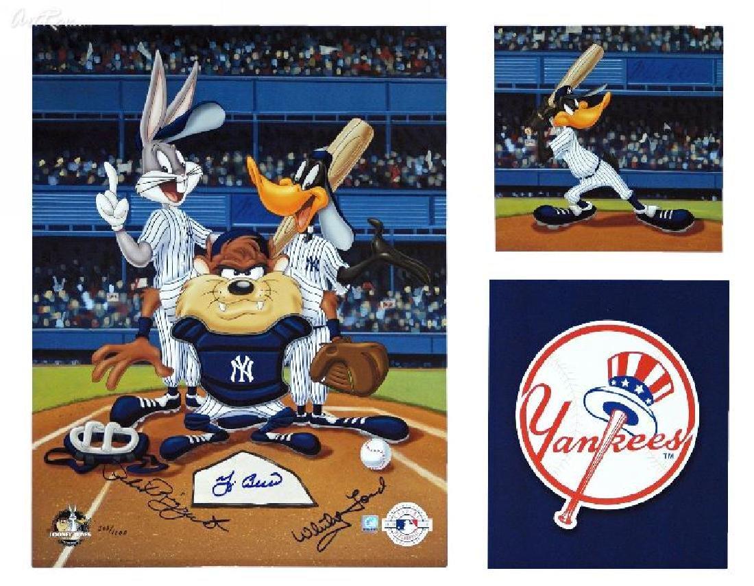 Memorbalia, McKimson NY Yankees - Signed by Berra,