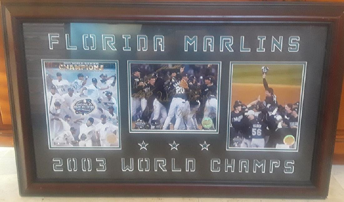 Memorabilia, Team Signed florida marlins 2003 world