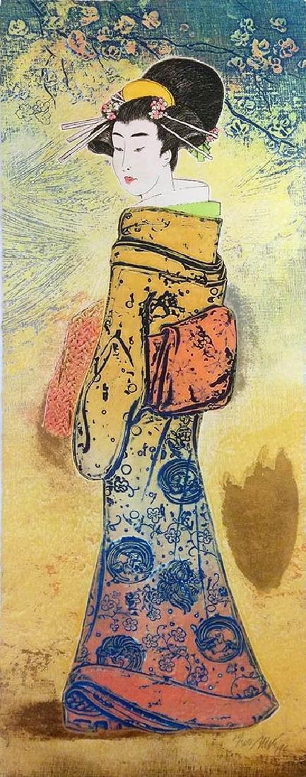 "MIKULAS KRAVJANSKY ""SPRINGTIME IV"" 1996 HS/N"