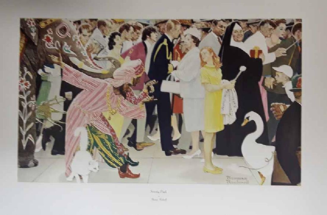 Norman Rockwell Saturday People Vintage Original Ltd Ed