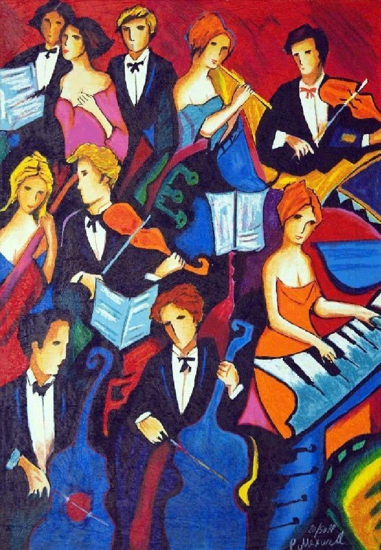 """Phillp Maxwell """"The Orchestra"""" Serigraph HS/N"""
