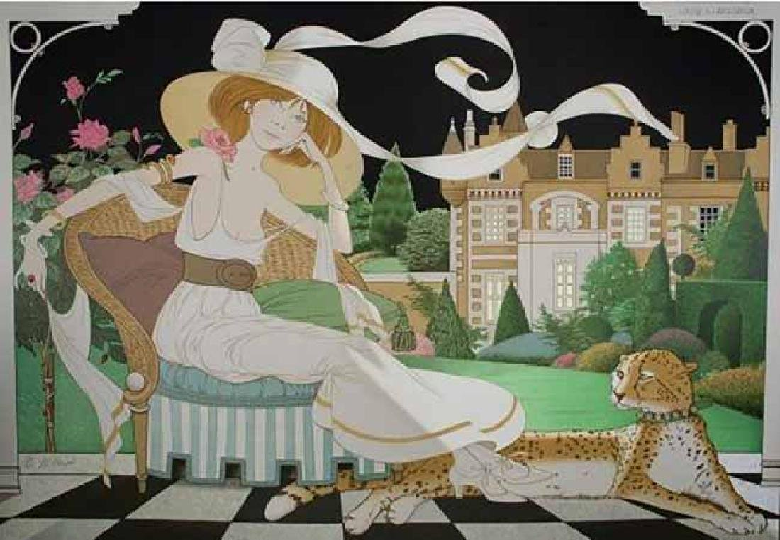 "Philippe Noyer ""Lady Libellaula"" HS/N Serigraph"