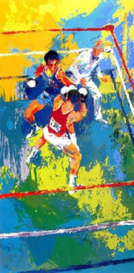 "Leroy Neiman ""Olympic Boxing Moscow"" HS/N Serigraph"