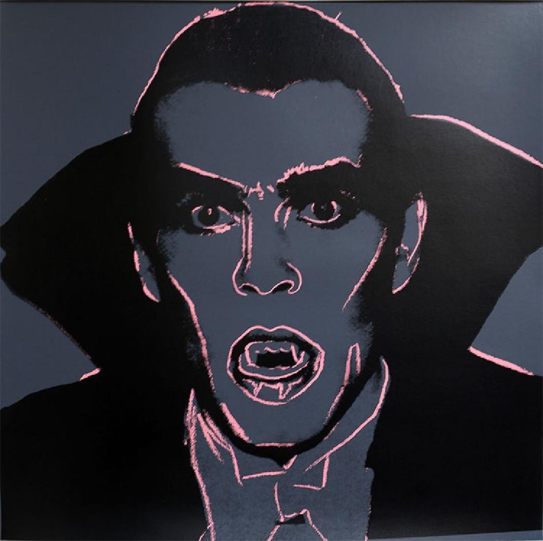 Warhol, Andy Myths Portfolio Dracula 1981 Silkscreen