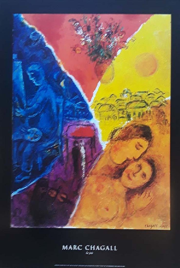 Marc Chagall, Original exhibition poster