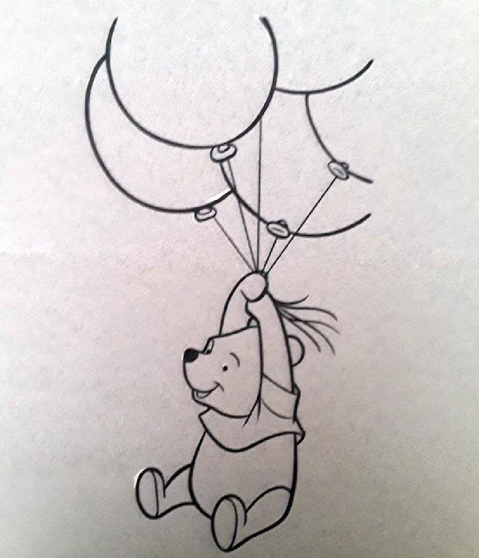 Disney winnie the pooh production Drawing by Walt