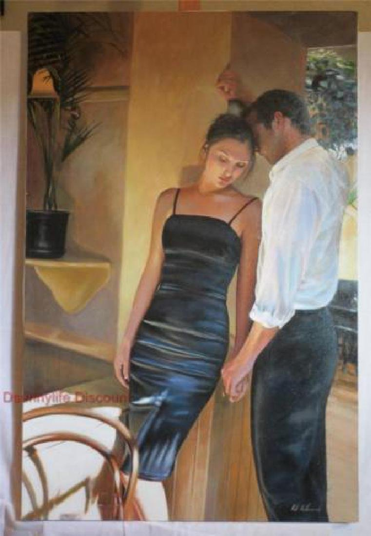 "Rob Hefferan Original Oil on Canvas ""Nothing is Closer"""