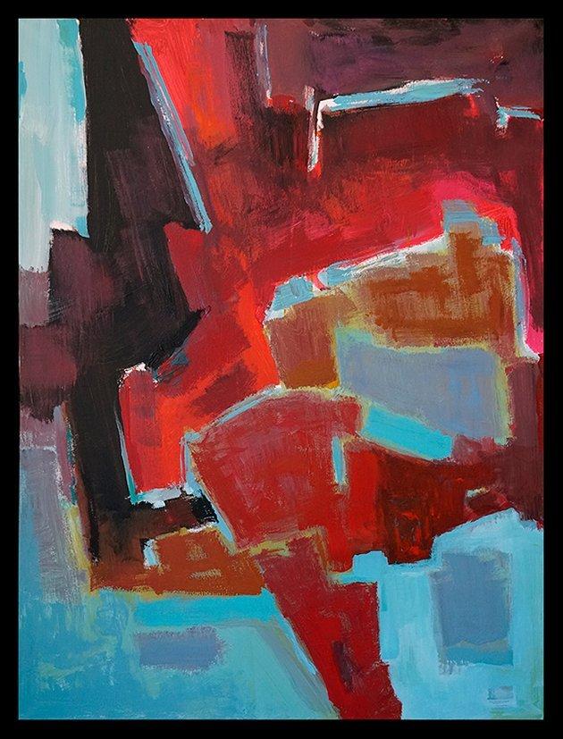 Michael Schofield Origina Oill on canvas Hand signed