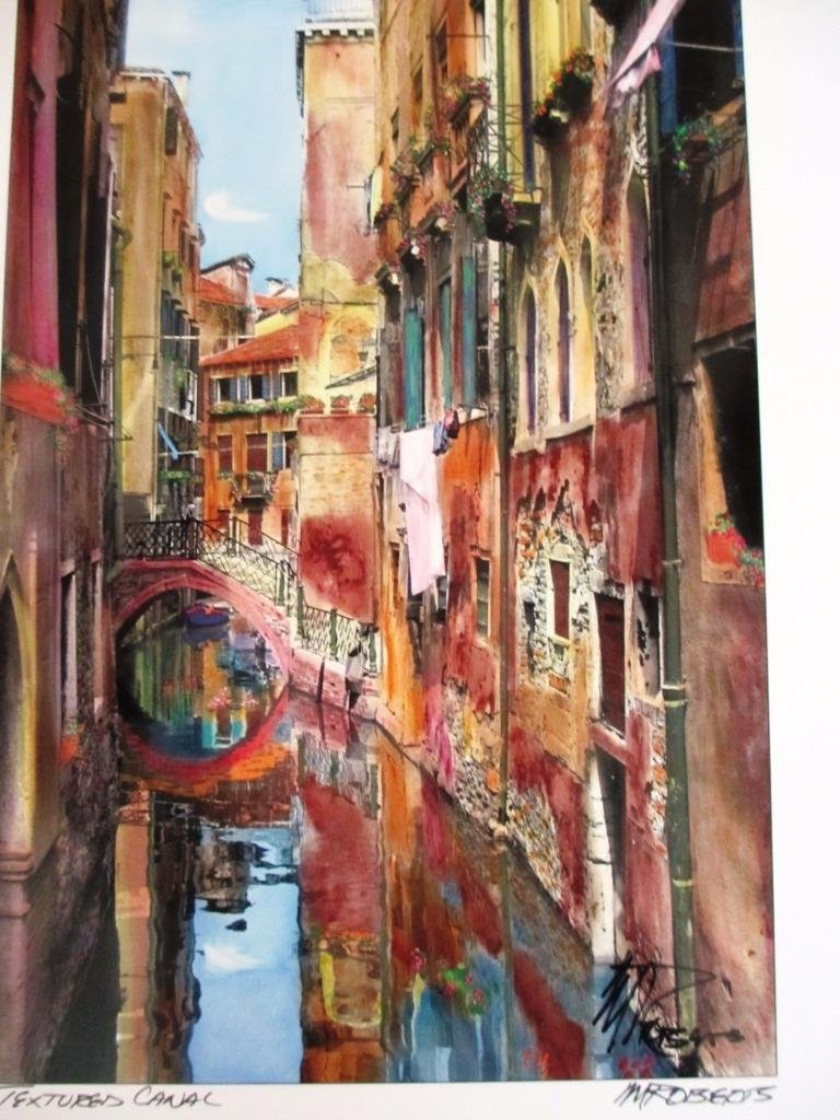 "Martin Roberts ""Venice"" Portfolio set of 9 lithograph"
