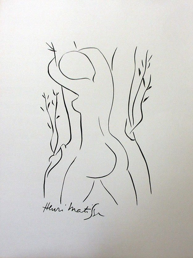 Henri Matisse Lithograph Plate Signed Extremely rare