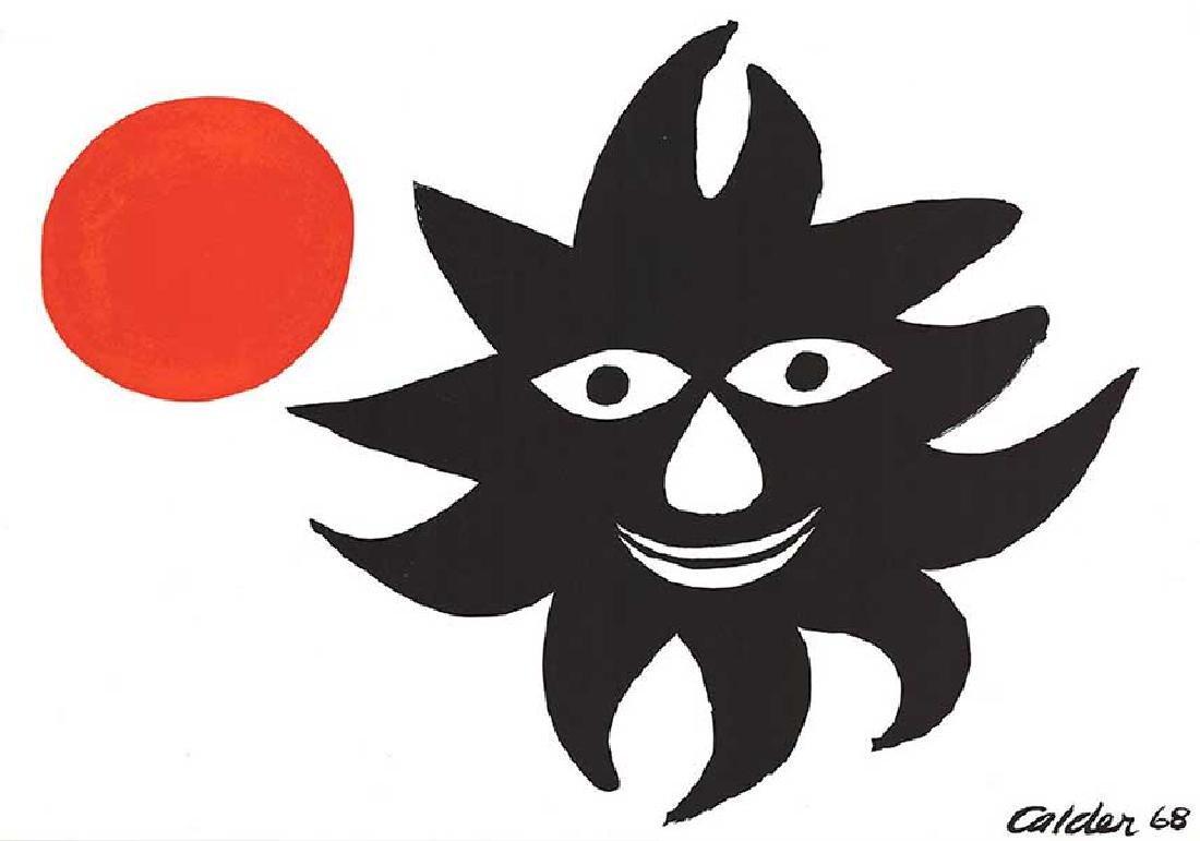 Alexander Calder - Sun and Moon - 1968