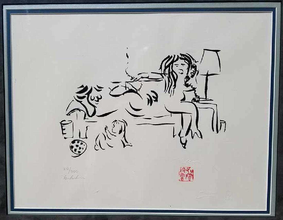 "JOHN LENNON, ""ON THE TELEPHONE WITH FAMILY 1976"""