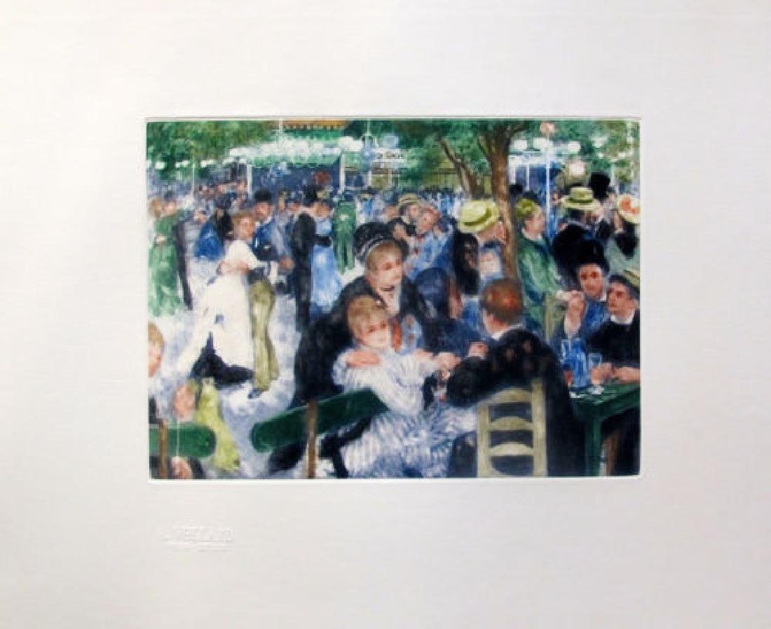Pierre Auguste Renoir LE MOULIN DE LA GALETTE Etching