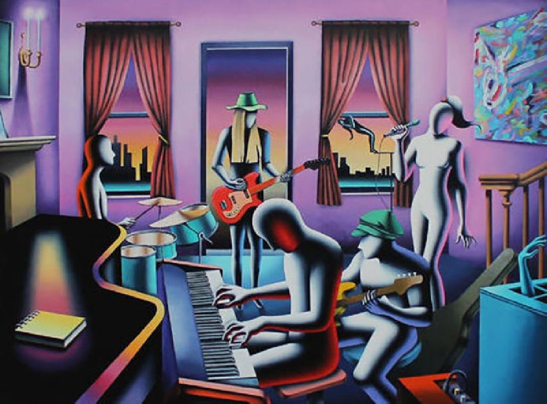 Mark Kostabi - The mystic chords of memory hand