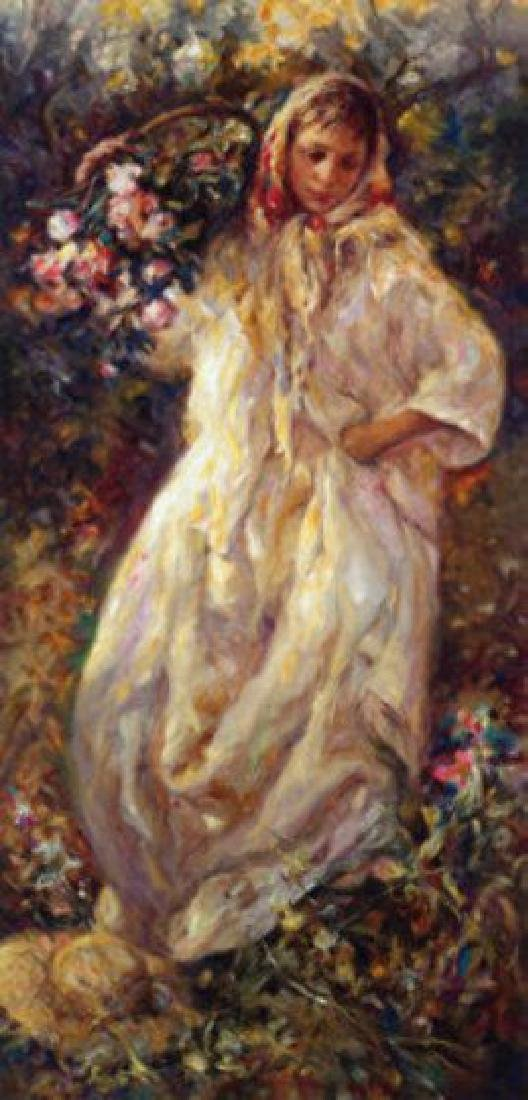 """Jose Royo """"Fall"""" 4 Seasons Suite Hand Signed/# FRAMED"""