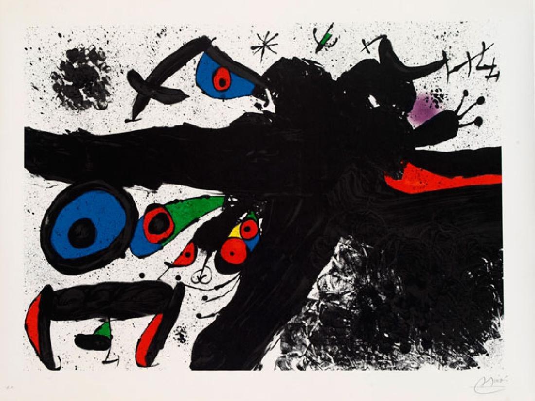 Joan Miro (Spanish, 1893-1983), Homenatge a Joan prats