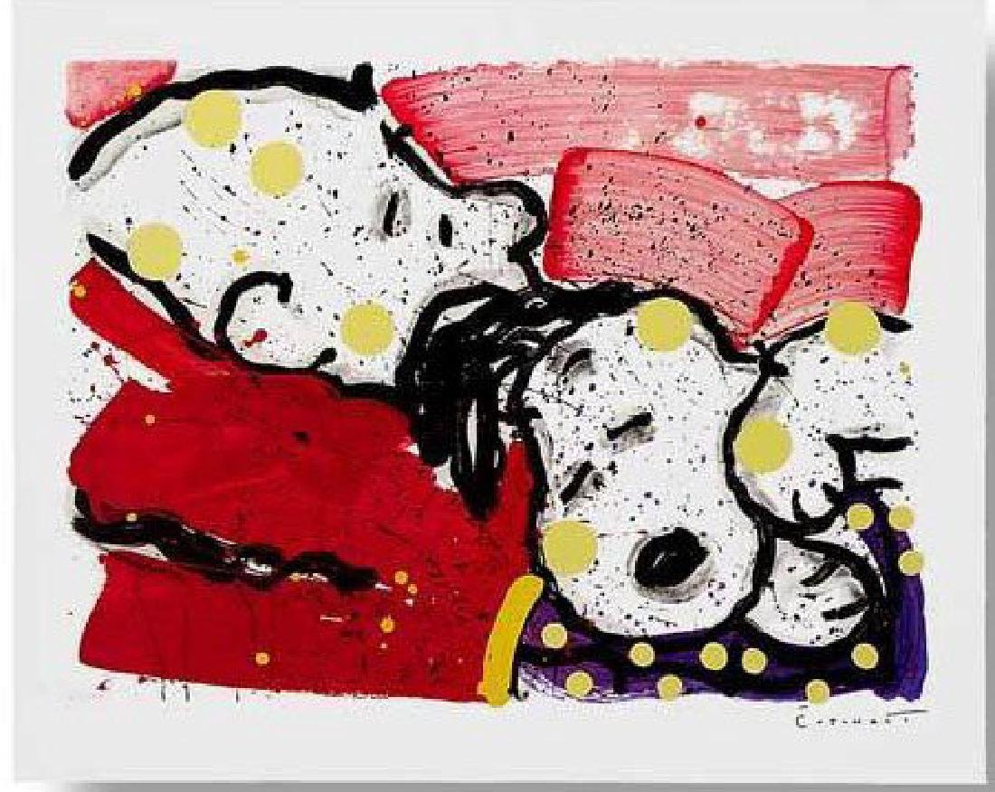 "Tom Everhart ""Mello Jello"" hand sign & # lithograph"