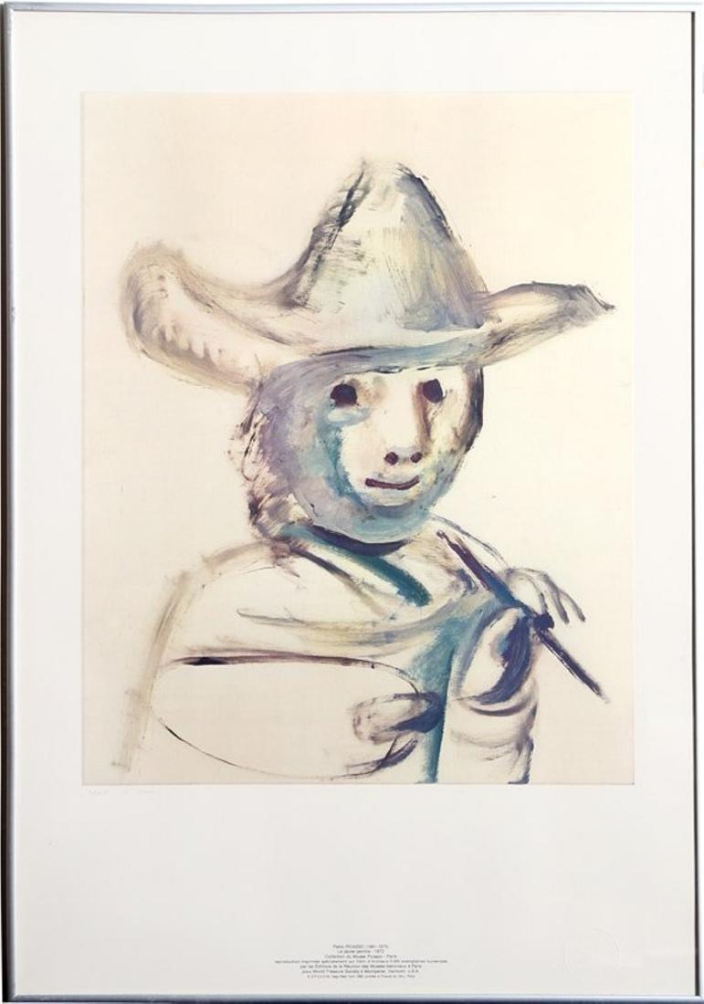 Pablo Picasso, Le Jeune Peintre, Lithograph