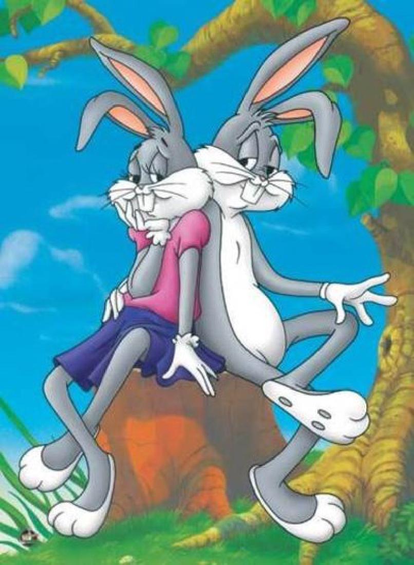 "Warner Bros. ""HONEY BUNNY"" Animation Giclee Gift"