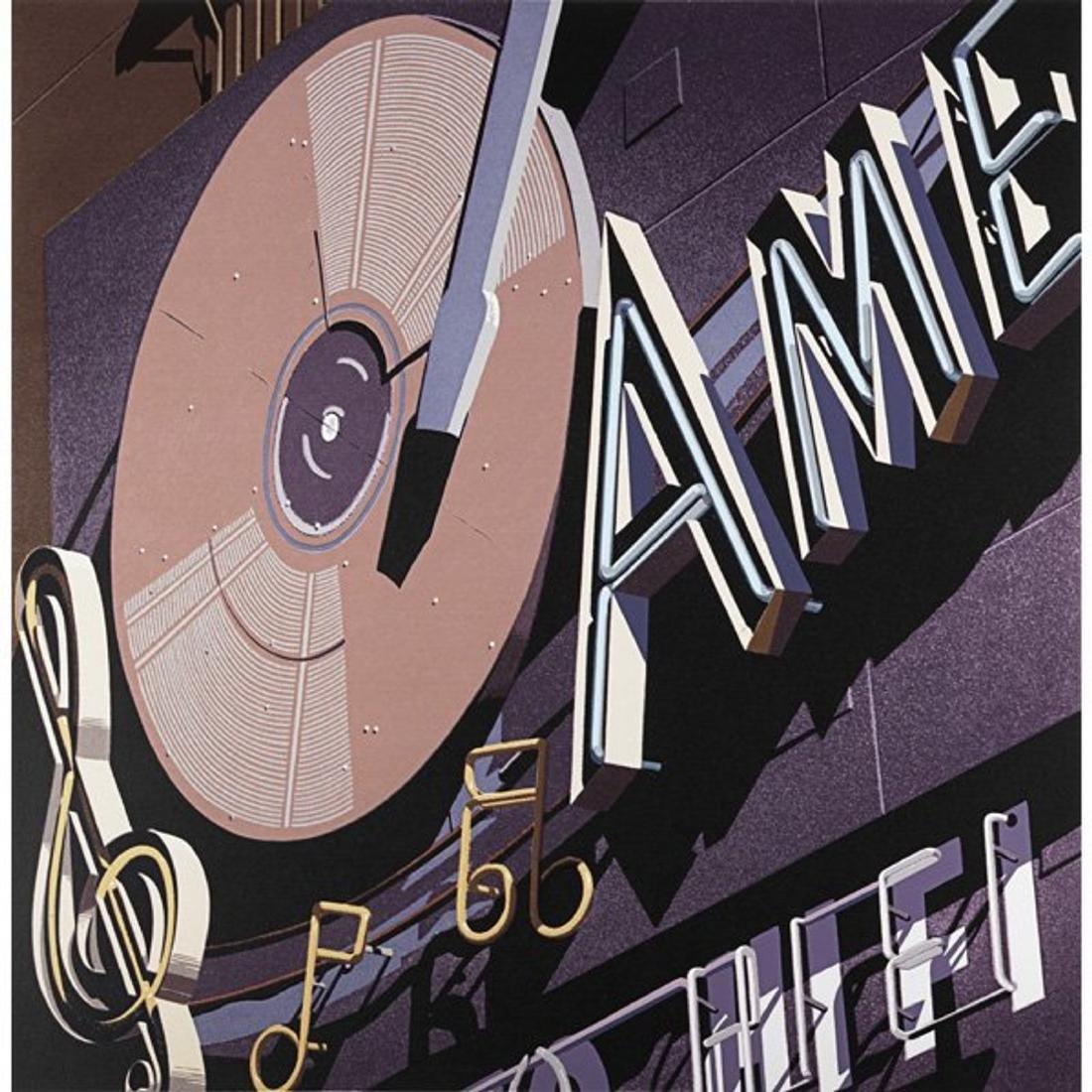 Robert Cottingham (American, b. 1935),  American Signs