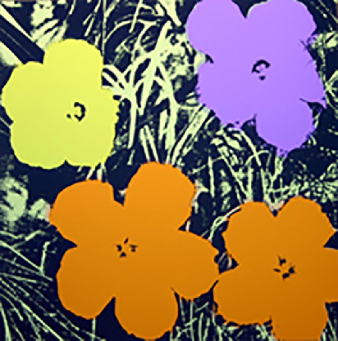 ANDY WARHOL FLOWERS 11.67 SERIGRAPH SUNDAY B. MORNING