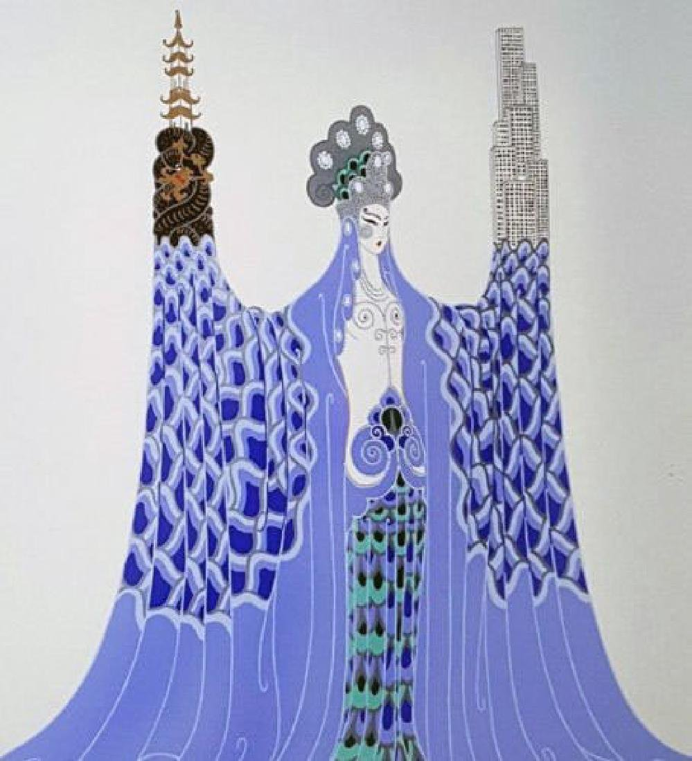 "Erte ""Ocean Pacifique"" serigraph hand signed and"