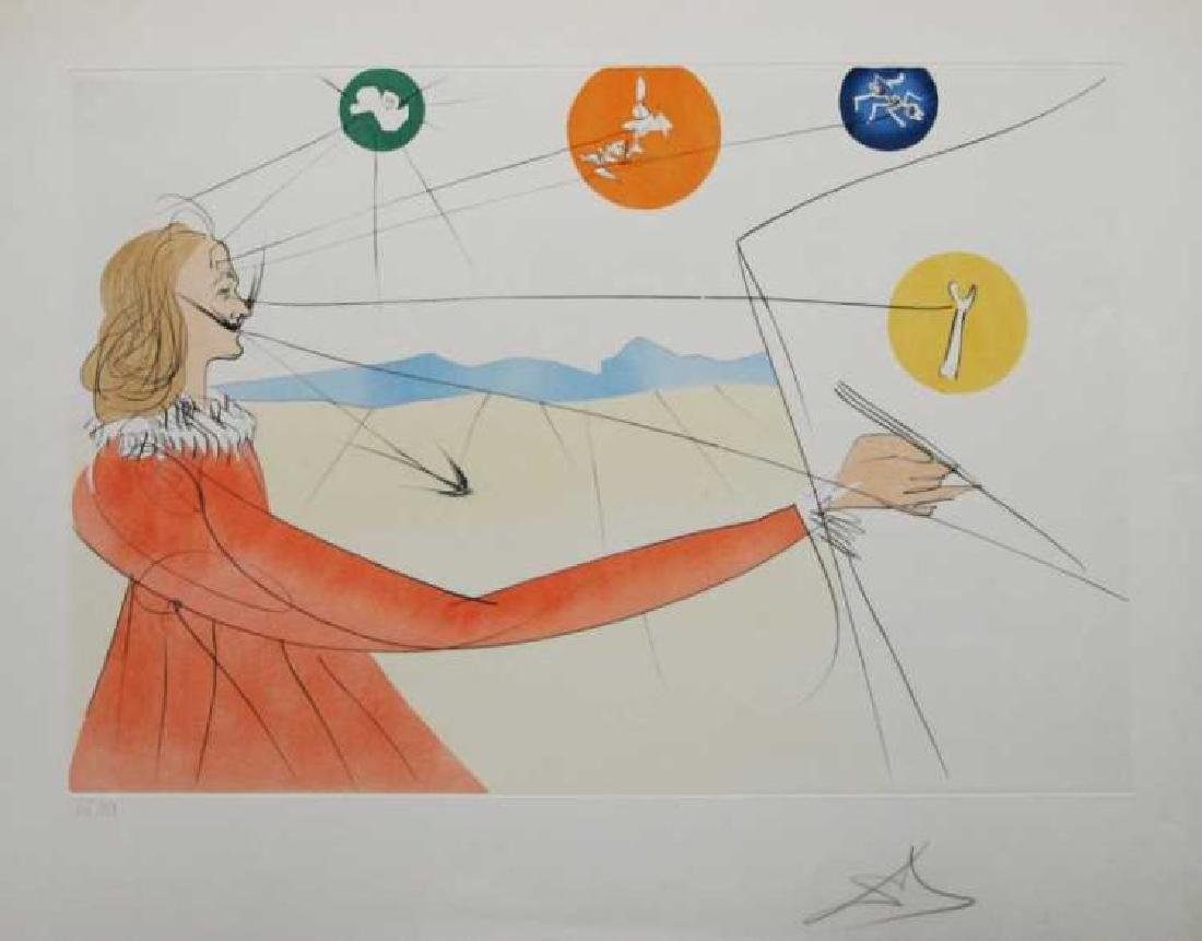 "Salvador Dali, ""Dalinean Prophecy"" Signed & Numbered"