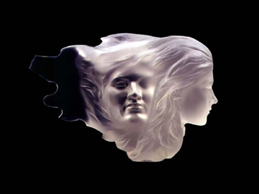 "Frederick Hart, ""HERSELF ACRYLIC SCULPTURE 1984"" Signed"