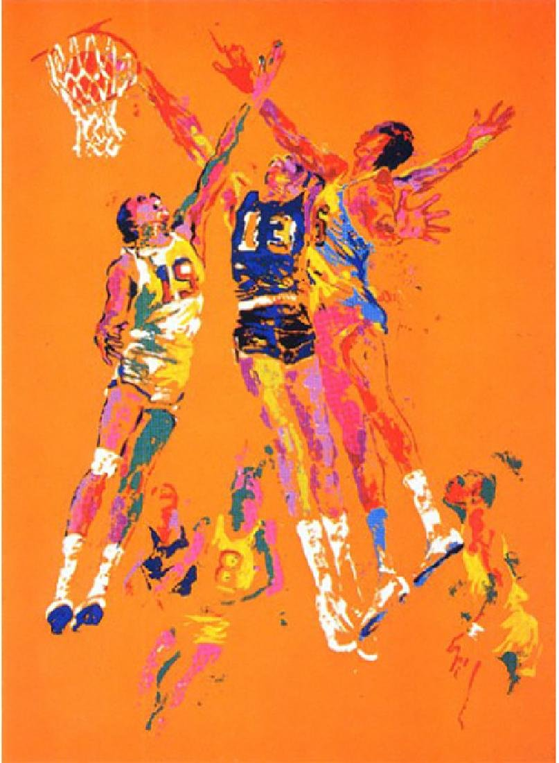 "Leroy Neiman ""Basketball"" Serigraph Hand Signed/#"
