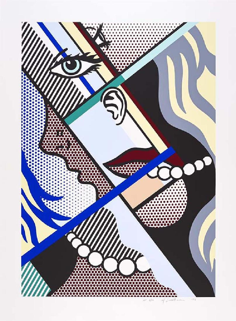 Roy Lichtenstein, Modern Art I Screenprint 1966