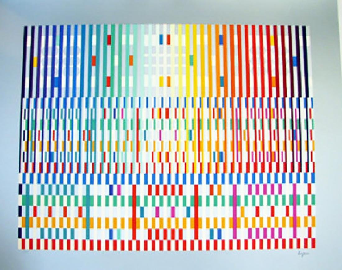 YAACOV AGAM, THANKSGIVING LIGHT, SERIGRAPH HS/N