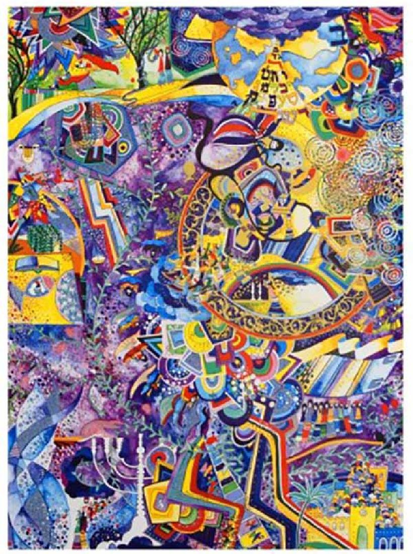 "Raphael Abecassis ""CELEBRATIONS"" HS/N Lithograph"