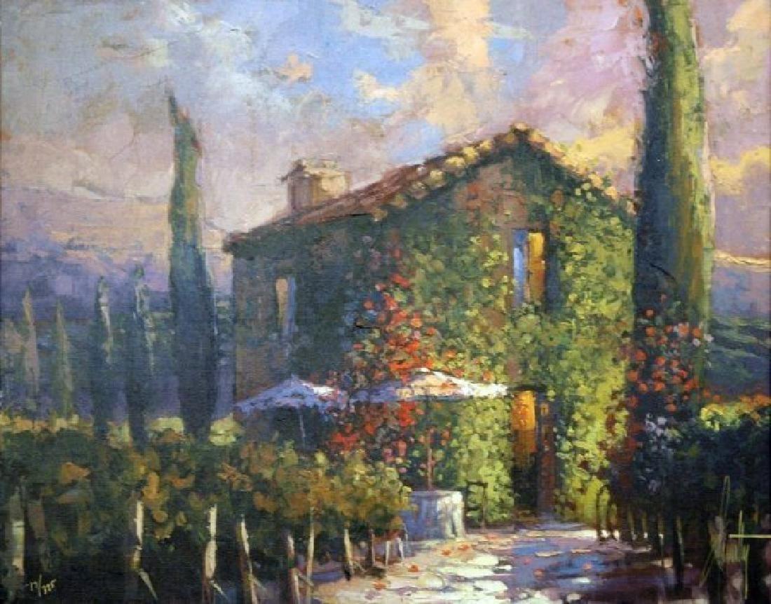 "Steven Quartly ""Tuscany Warmth"" HS/N Embellished Giclee"