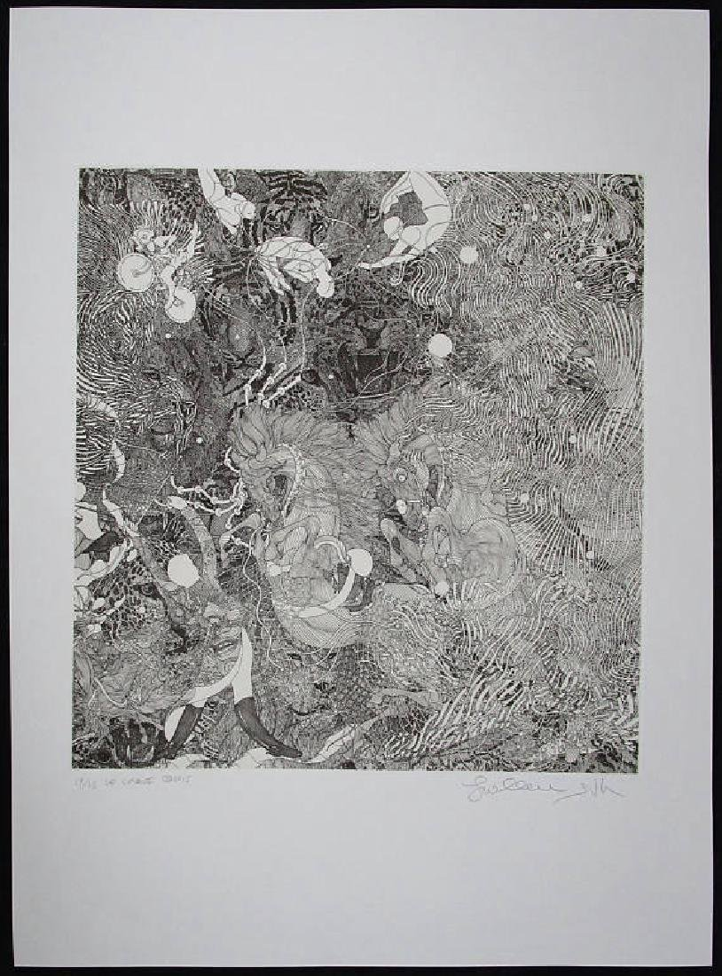 """Guillaume Azoulay """"Cirque"""" HS/N Etching"""