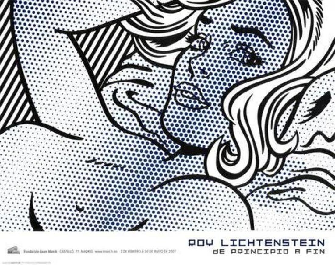 """Seductive Girl by Roy Lichtenstein 23.25""""x33.75"""" offset"""