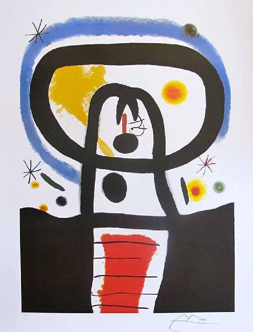 "JOAN MIRO ""EQUINOX"" Faxs. Signed Limited Edition"