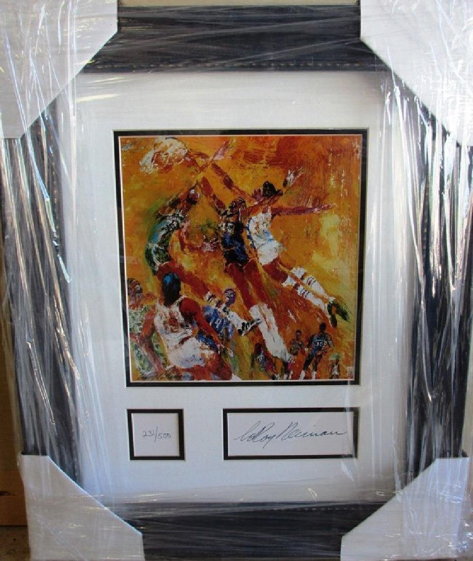 """Leroy Neiman """"NBA ALL STAR GAME"""" SIGNED L/E"""