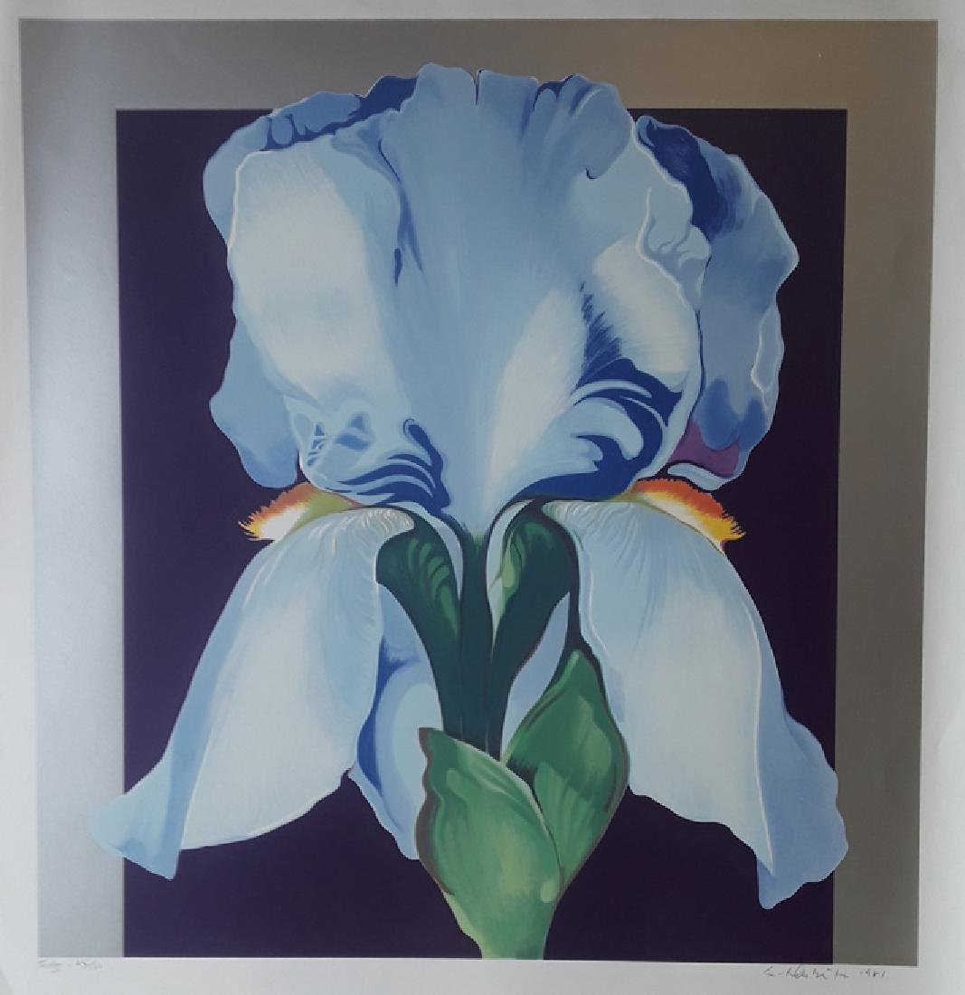 "Lowell Nesbitt ""In Bloom"" HS/N Lithograph"