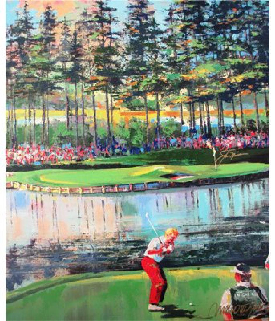 """Malcolm Farley """"17 hole at sawgrass"""" HS/N Jack Nicklaus"""
