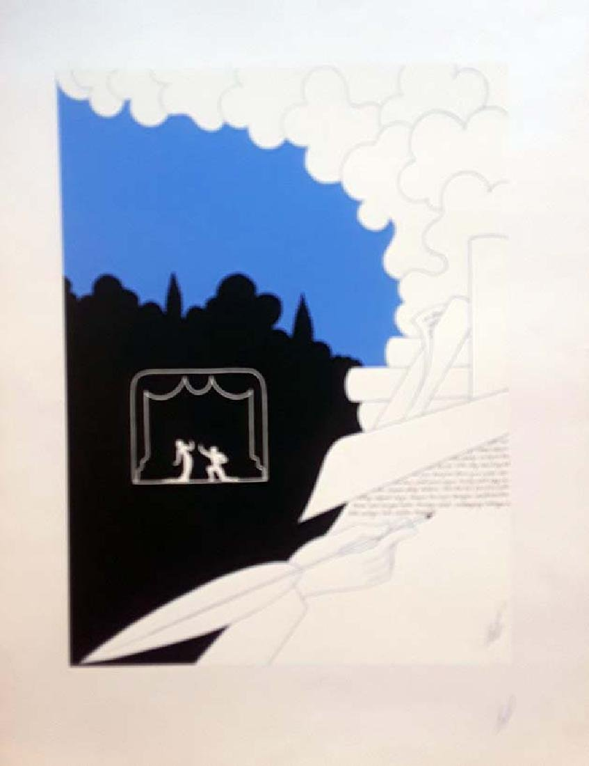 Erte Hand signed proof lithograph