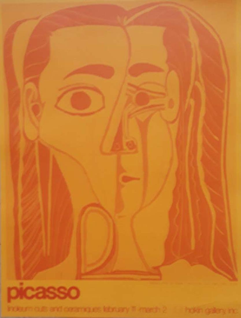 Picasso, Original exhibition poster