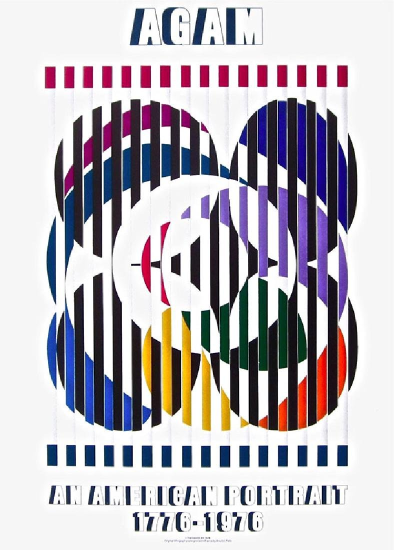 Yaacov Agam An American Portrait, 1976 Exhibition