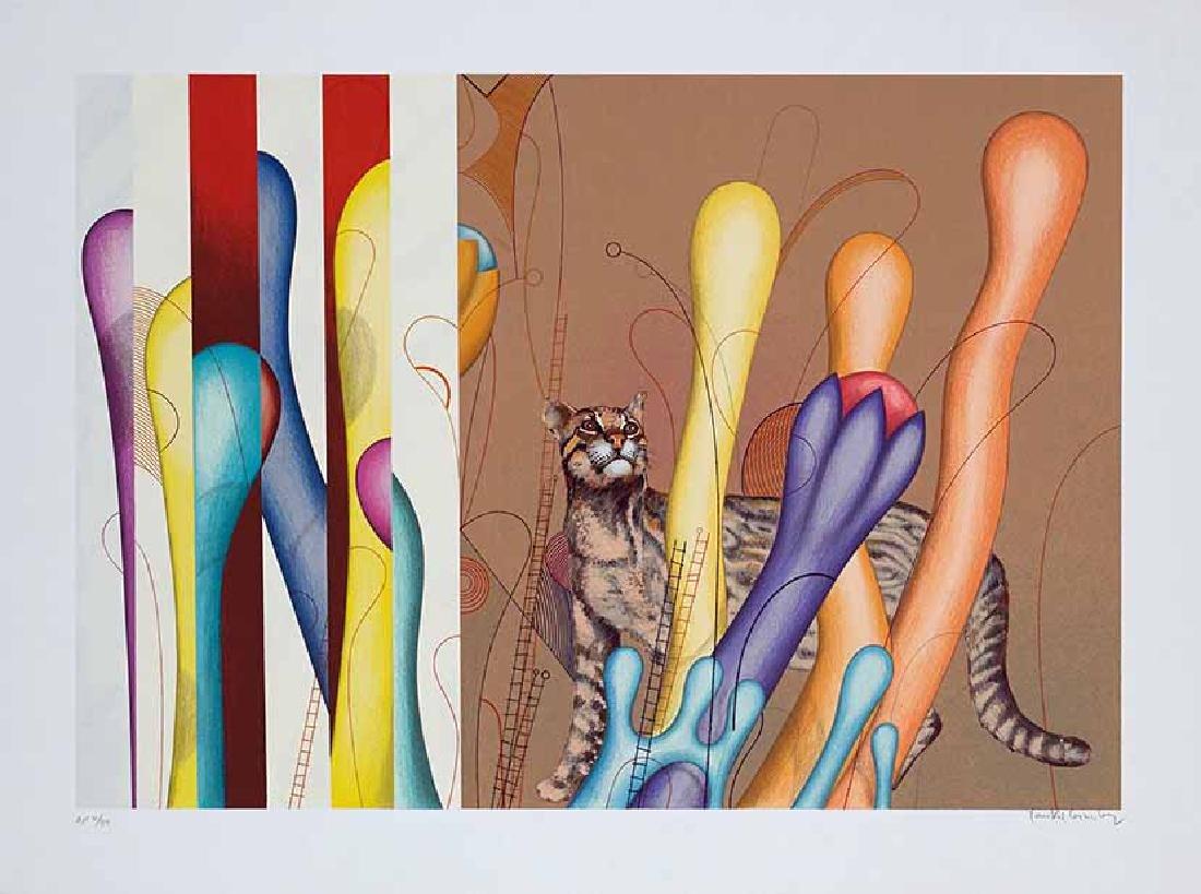 Yankel Ginzburg - Ocelot, hand-signed numbered