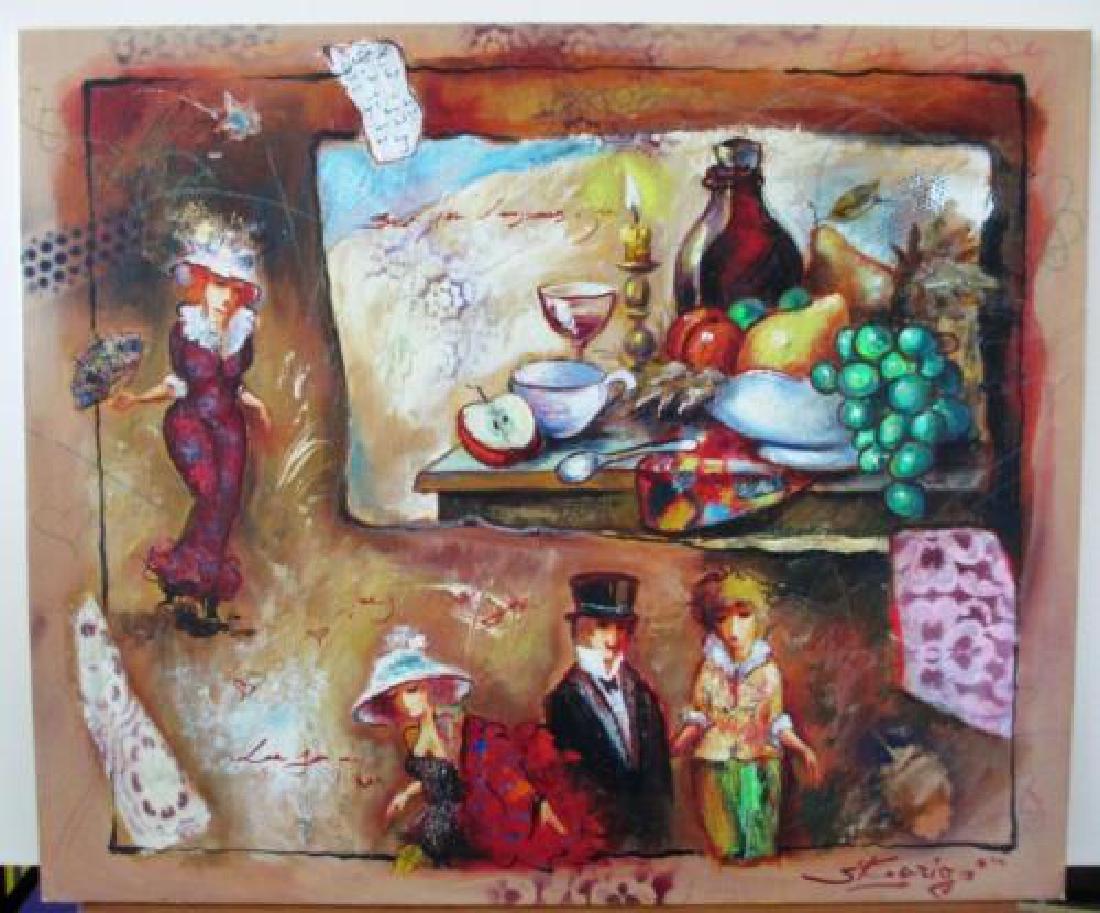 Sergey Kovigo Original Oil on Stretch Canvas